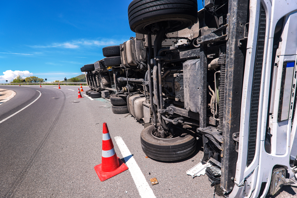 What Causes Trucks to Rollover?