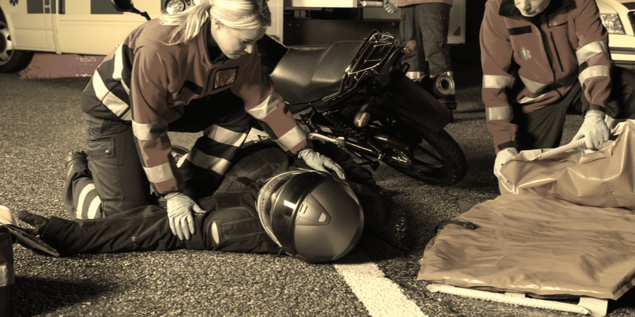 Common Injuries from Motorcycle Crashes